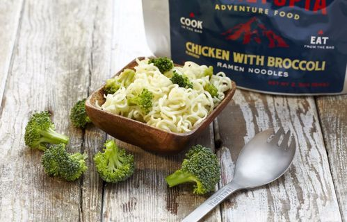 Picture of Ramen Noodles - Chicken flavored with Broccoli
