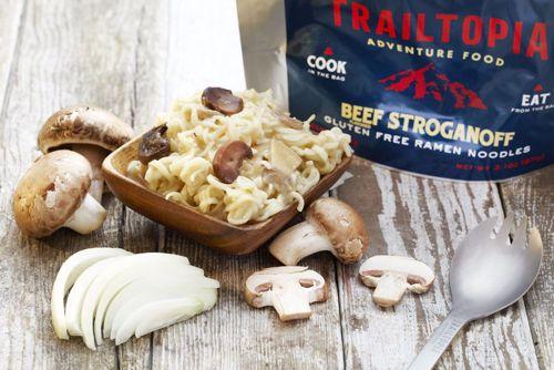 Picture of Gluten Free Ramen Noodles - Beef flavored Stroganoff
