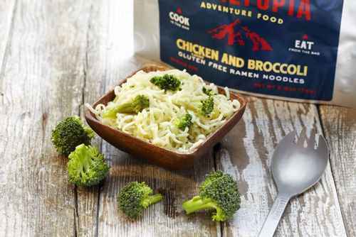 Picture of Gluten Free Ramen Noodles - Chicken flavored with Broccoli